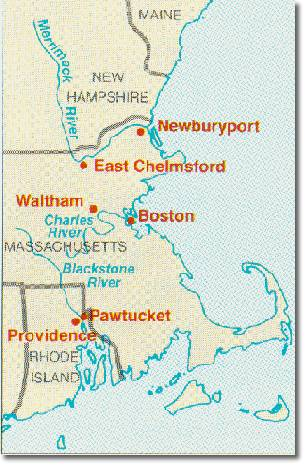 6. New England Textile Mills