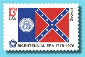 1976 Georgia State Flag