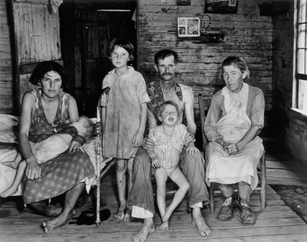 1938 White Sharecroppers